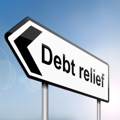 debt-relief-sign